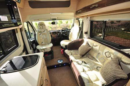 Auto-Sleeper Kingham interior