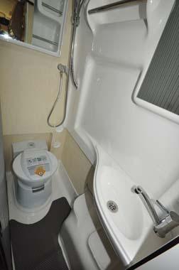 Auto-Sleeper Kingham shower room