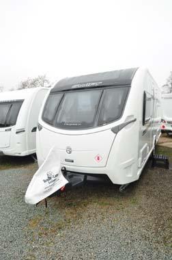 Swift Elegance 580 caravan exterior