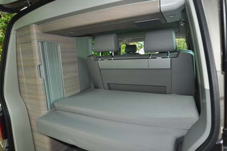 VW California SE Boot Space