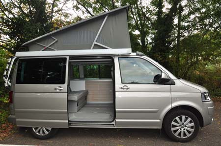 VW California SE Roof Up