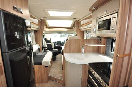 Swift Bolero 684 Interior Looking Forward