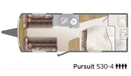 Bailey Pursuit 530-4 - floor plan
