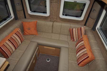 Vantage Med Motorhome Lounge