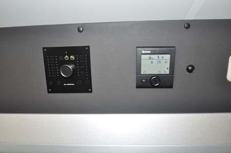 Adria Twin 500 S Controls