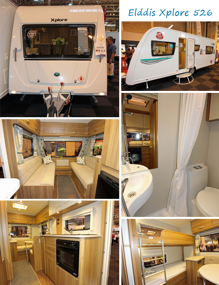 Elddis Xplore 526 caravan