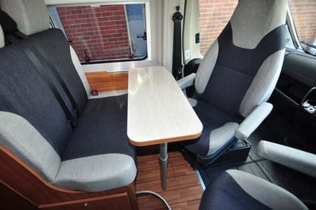 Weinsberg Carabus 541 MQ Seating 2