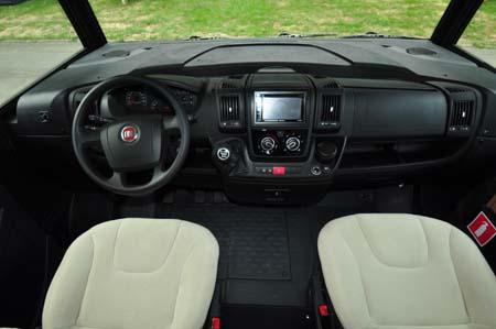 Itineo SB700 motorhome cab