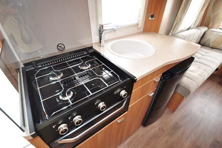 Sprite Freedom 6TD kitchen