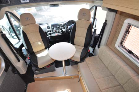 Vantage Gem Cab Seating