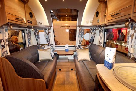 Bailey Pegasus Modena Interior Lounge