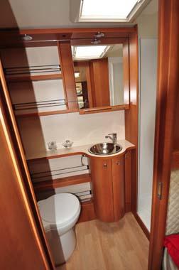 Rapido 665 Motorhome Washroom