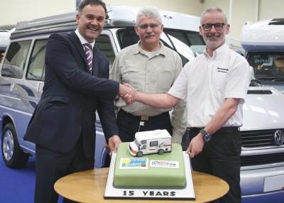 Caravan Guard + Brownhills celebrate 15 years working together