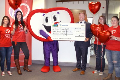 Heart research cheque pres 2016