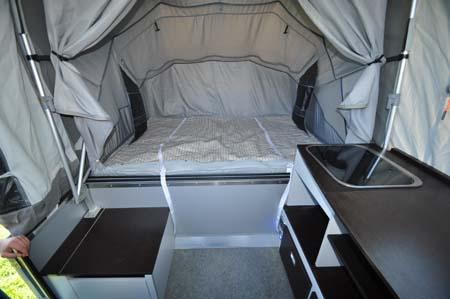 Opus Trailer Tent Bed