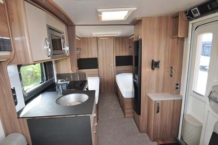 Swift Conqueror 565 Interior looking back