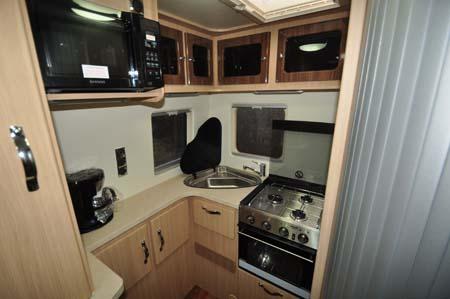 Auto-Sleeper Stanway Kitchen