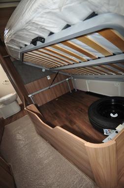 Sprite Quattro Under-bed storage