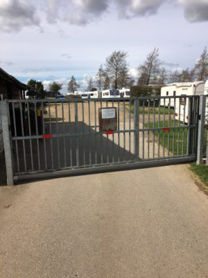 caravan storage gates