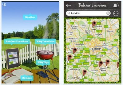 iBBQ caravan and motorhome app