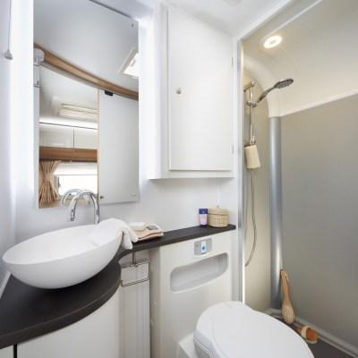 motorhome washroom