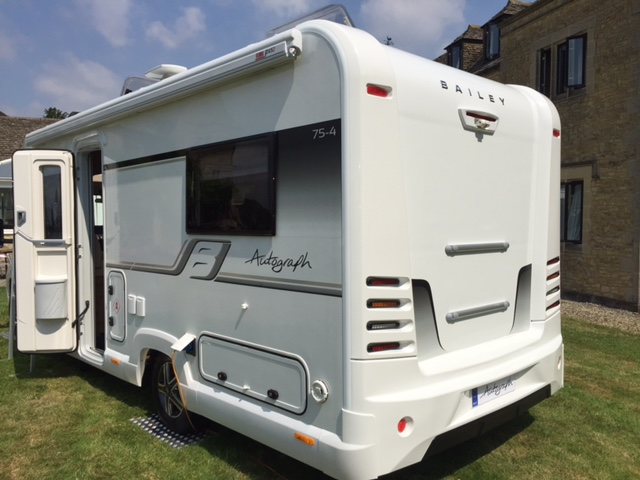 Bailey Autograph motorhome side view
