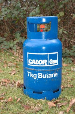 Butane cylinder
