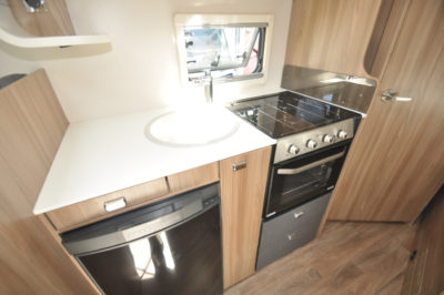Swift Escape 664 Motorhome Kitchen