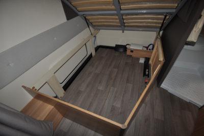 Caravelair Antares 420 storage