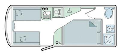Bailey Pursuit 430-4 Floor Plan