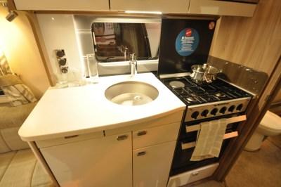 Swift Elegance 650 Kitchen