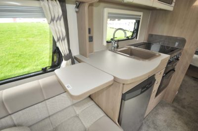 Elddis Compass Capiro 550 Kitchen worktop extension