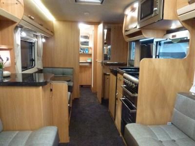 Knaus Star Class 550 Interior looking back