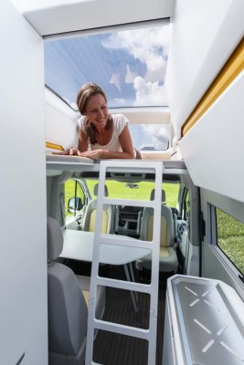 VW California XXL bunk bed