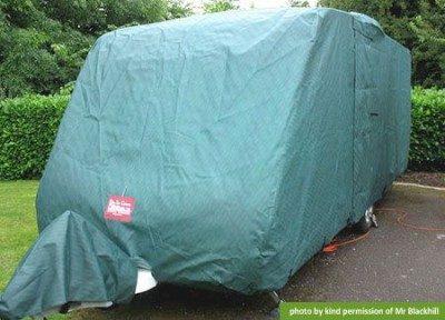 caravan storage cover