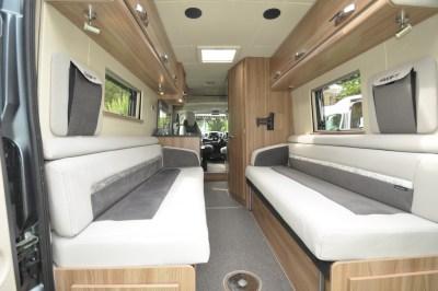 Swift Select 122 Motorhome Lounge