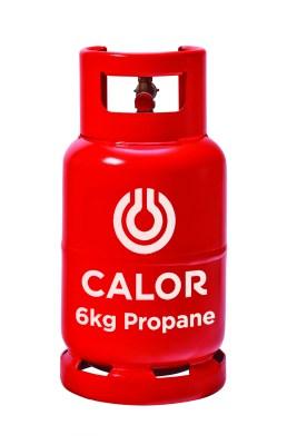 Calor 6KG gas cylinder
