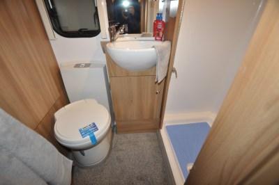 Bailey Pegasus GT70 Palermo washroom