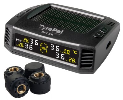 TyrePal's new Solar Colour tyre pressure monitoring system