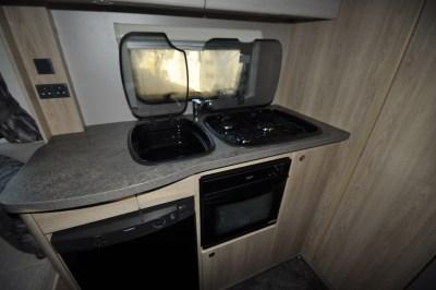 Elddis Accordo Motorhome Kitchen