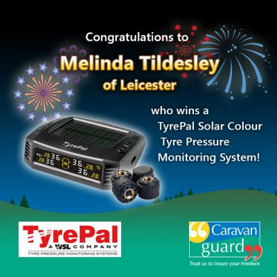 TyrePal's new solar colour TPMS winner