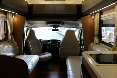 Auto-Trail Imala 732 Interior looking forward