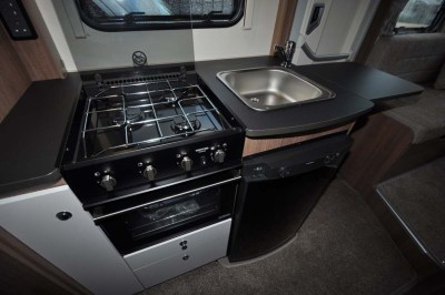 Bailey Advance 74-2 Kitchen