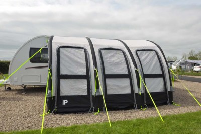 Prima inflatable caravan awning