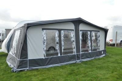 Dorema inflatable awning