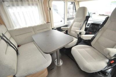 Hymer Exsis I 504 Cab Dining Seating