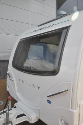 Bailey Pursuit 550 4 caravan front