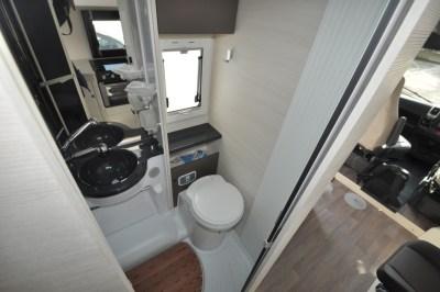 Chausson TravelLine 711 Motorhome Washroom