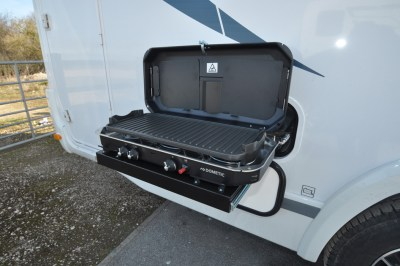 Chausson TravelLine 711 Motorhome Barbecue