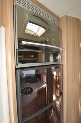 Knaus Sun Ti 700 MEG motorhome fridge